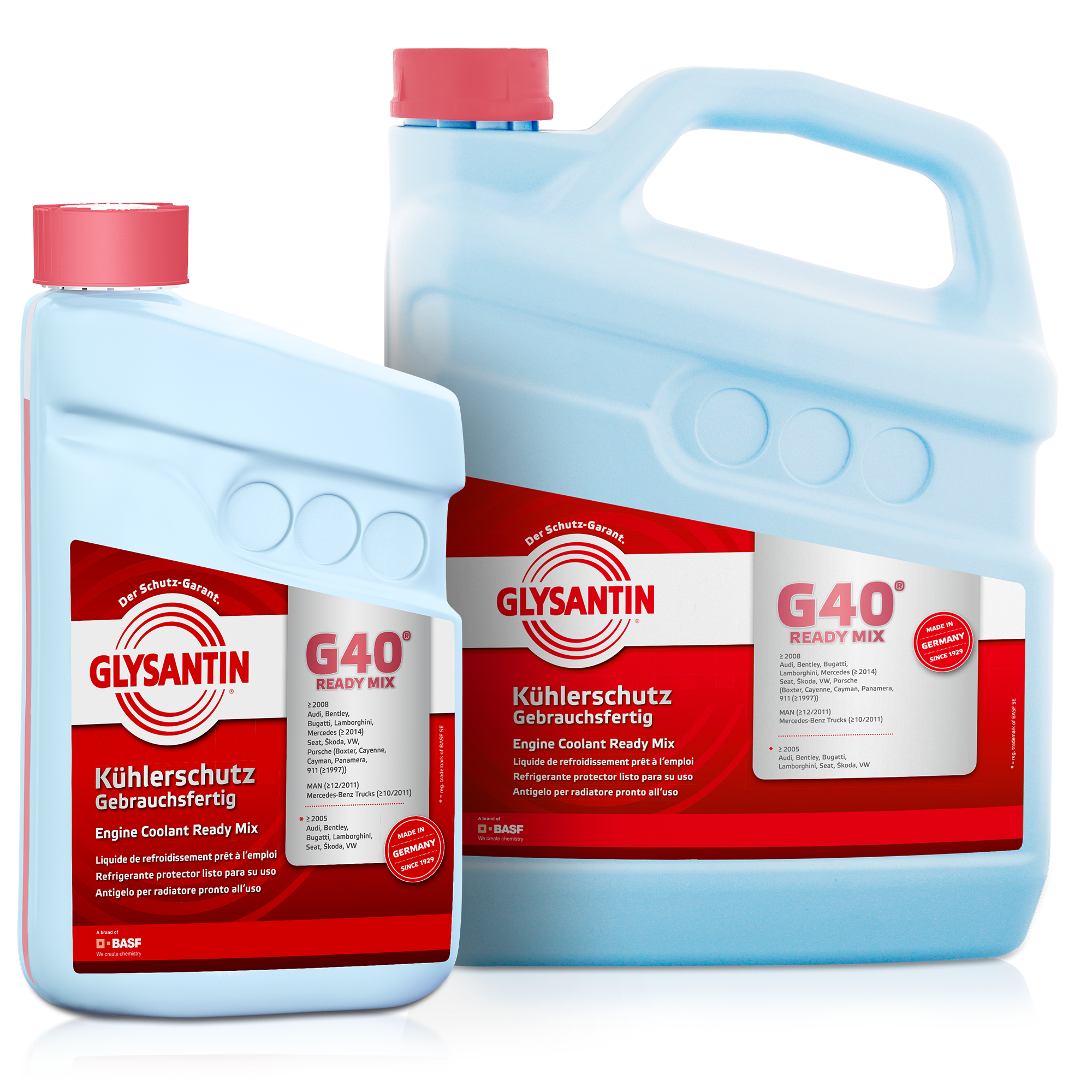 Glysantin G40 Ready Mix Porsche Engine Coolant The Premium For Your Vehicle