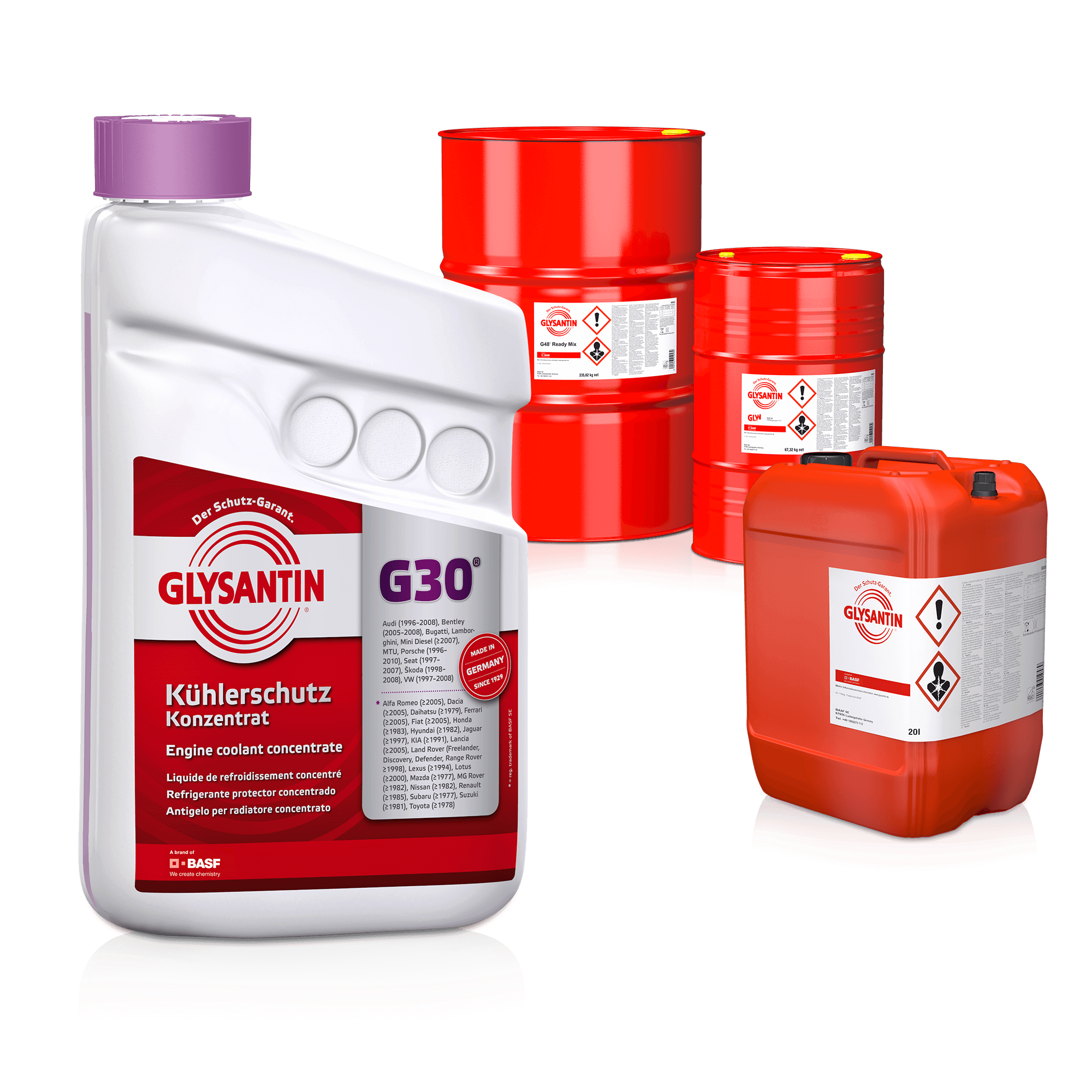 Glysantin G30 Concentrate Engine Coolant Composition The Premium For Your Vehicle